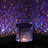 #9: LAZYKARTS® Star Master Projector With Usb Wire Turn Any Room Into A Starry Sky Colorful Romantic LED Cosmos Star Master Sky Starry Night Projector Bed Light Lamp