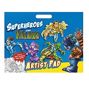 Alligator Productos 2977/Svar superhéroes Artista Pad
