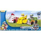 Paw Patrol, Confezione da 3 Veicoli Rescue Racers, Marshall, Rocky e Rubble, dai 3 Anni - 6024058