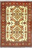 Morgenland Afghan Ariana Teppich 295 x 214 cm Gelb Handgeknüpft Orientalisch