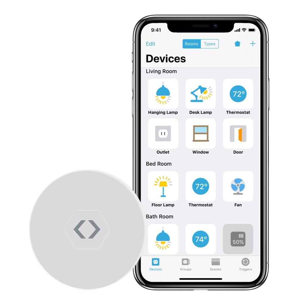 LinkDesk Room Locator – Détecteur de Mouvement sans Fil Nouvelle génération pour Apple iPhone et iPad