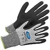 Arbeitshandschuhe Schutzhandschuhe Handschuhe Kori-Cut 5 grau-schwarz - Größe 10