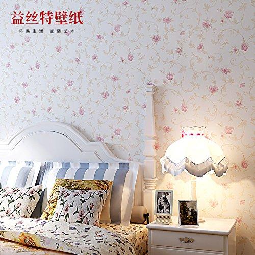 fyzs-fondos-de-pantalla-romanticos-yisite-pastoral-no-tejida-dormitorio-living-wallpaper-fondo-flore