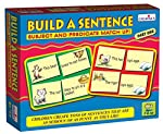 """""""Build A Sentence Part 1"""" After practicing the Alphabet and word building, children must learn and practice art of sentence forming. The three boxes in the series are a great and fun way for children to learn and practice making complete sentences st..."""
