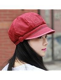 Tapar la Primavera y el Verano los Ni os Coreanos Boinas Marea Ms.Moda Oto o  Cap 8 MA Calidad Hat Pintor Pac ofrecen Tanto c¨digo Rojo… 0494fea56c8