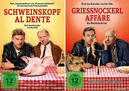 Eberhofer - Schweinskopf al dente + Grießnockerlaffäre im Set - Deutsche Originalware [2 DVDs]