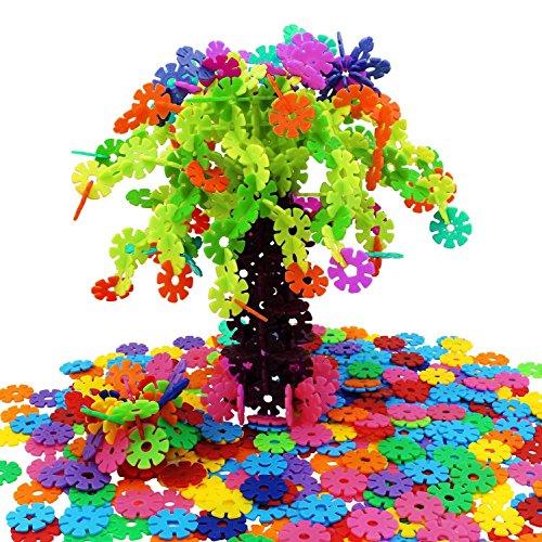 magtimes-giochi-educativi-snow-flakes-fiocchi-di-neve-serie-500-pezzi-dischi-di-plastica-interlaccia