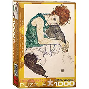 Eurographics the Artist's Wife by Egon Schiele Puzzle (1000 Pieces)