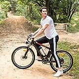 Soteer Elektrofahrrad Klapprad 20 inch/26 inch Faltend E-Bike mit 250W Hochgeschwindigkeits-Bürstenlose Motor und 36V Lithium-Akku Mountainbike (26-Zoll)