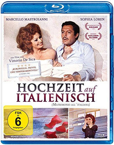 Preisvergleich Produktbild Hochzeit auf italienisch [Blu-ray]