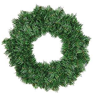 Kentop Corona de Navidad Artificial