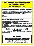 Novap - Panneau - Equipements de protection individuelle - 400X300 Mm Rigide...
