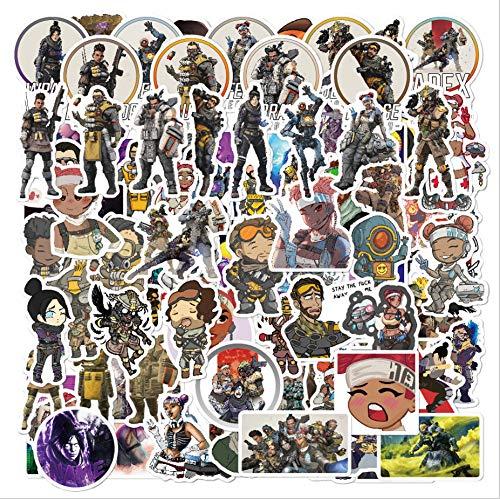 Helden-Spiel-Sticker 104St