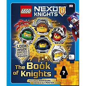 LEGO NEXO KNIGHTS The Book of Knights: Includes Exclusive Merlok Minifigure 9780241232347 LEGO