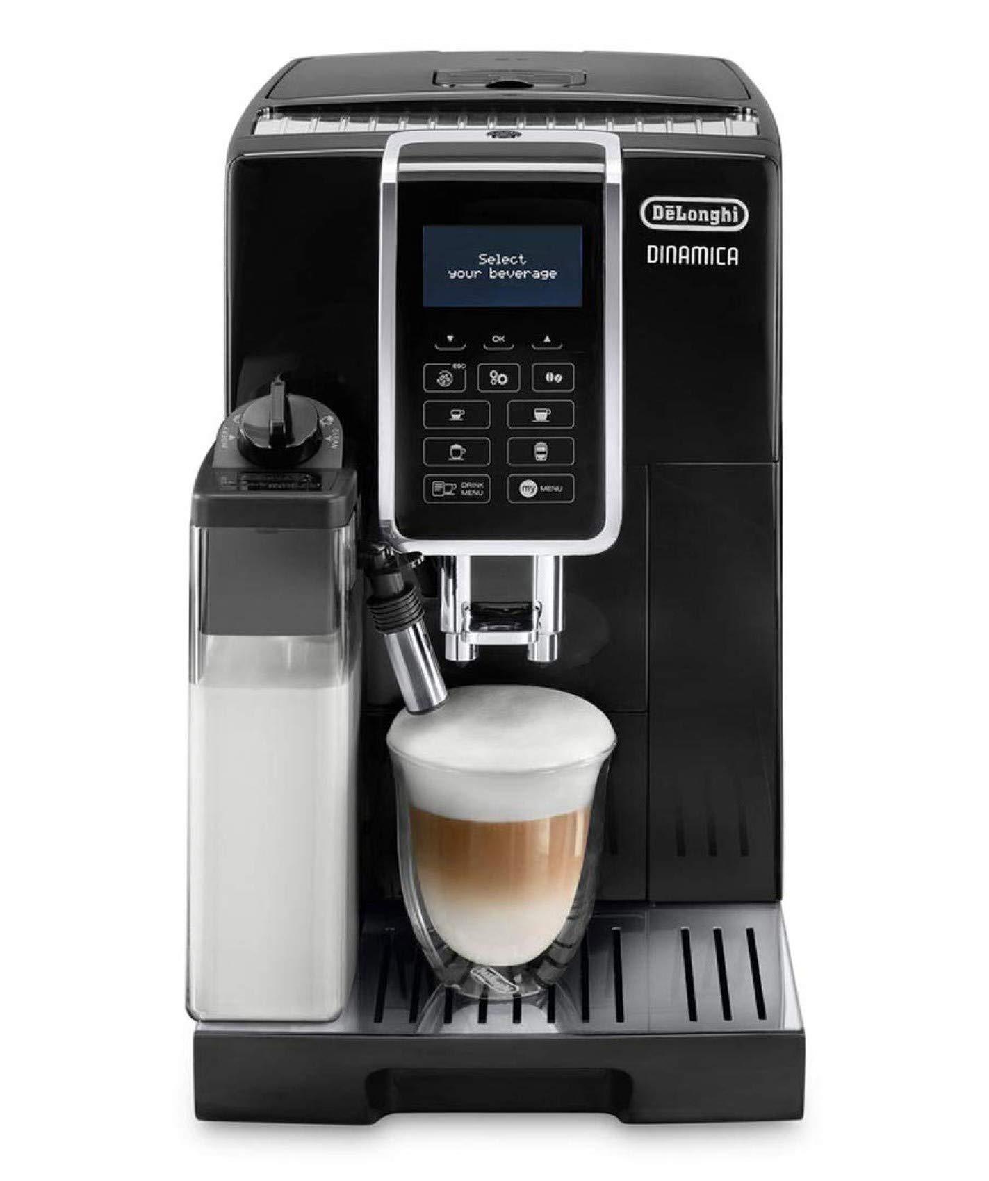 De'Longhi ECAM 350.55.B Dinamica Kaffeevollautomat (Milchsystem) schwarz