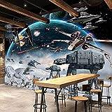 Papier Peint Personnalisé 3D Papier Peint Photo Mural Star Wars Grandes Peintures Murales Peinture Peinture Écologique Papier Peint Chambre Papel De Parede 3D, 250 * 175