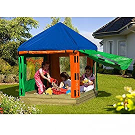 Sandkasten-TONI-aus-Holz-mit-Pavillon-von-Gartenpirat