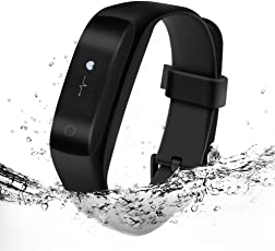 Lenovo HW01 Smart Band with Heart Rate Monitor (Black)