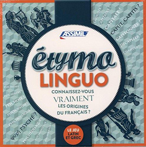 Etymolinguo : Avec 70 cartes, 1 sablier, 1 carnet et 1 crayon