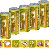 5 Rollen Kinder Bordüre Tiere [ selbstklebend ] Tapeten-Borte für