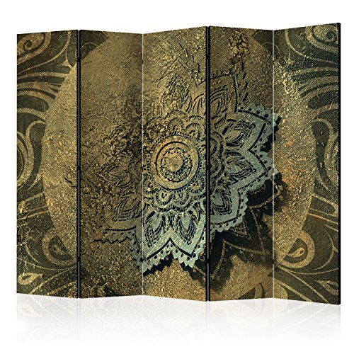 murando Biombo con Tablero de Corcho Mandala 225x172 cm de impresión