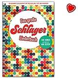 le grand schlager liederbuch 100 bekannte schlager hits avec m?lodie ligne texte et akkorden songbook avec pince avec coeur note color?e