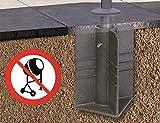 Platinum DeLuxe Bodenanker auch für Ampelschirme, kein Beton nötig Test