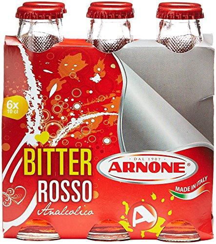 Arnone - Bitter Rosso Analcolico, 6 X 100 Ml - 600 usato  Spedito ovunque in Italia