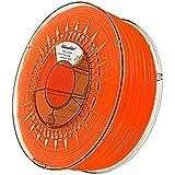 Minadax® 1kg Premium Qualitaet 1,75mm PLA-Filament orange fluoreszierend mit UV-Licht fuer 3D-Drucker hergestellt in Europa