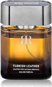 Raymond Turkish Leather Perfume for Men, Tan, 45 ml