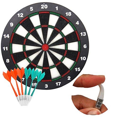 Soft Spitze Sicherheit Darts und Dart Board–Tolles Spiele für Kinder children- Profi-Dartscheibe Set (mit 6Stück SAFE Soft-Tip Darts) (Kinder-dart-spiel)