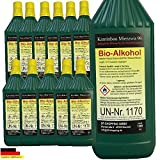 High performance bio ethanol Bio Alcohol - Choose from 5, 12, 24 liters for Fire Place (12 Liters)