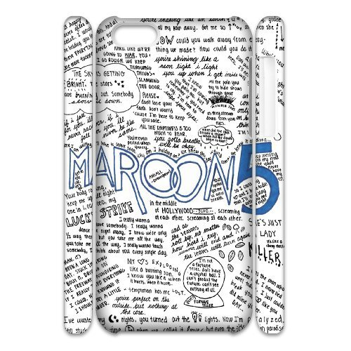 LP-LG Phone Case Of Maroon 5 For Iphone 4/4s [Pattern-6] Pattern-3