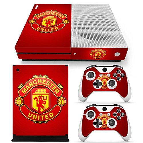 manchester-united-fc-xbox-one-s-decal-skin-cover-stickers-for-console-and-2-controllers