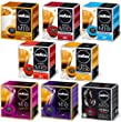 1 Box (16 pods) of each LAVAZZA A MODO MIO Blend. 128 Coffee Capsules total