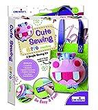 Creative Educational Aids P. Ltd. Cute Sewing Crafts Kit – Hippo Handbag, Multi Color