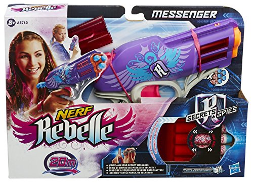 Hasbro Nerf A8760EU5 - Rebelle Messenger, Spielzeugblaster -