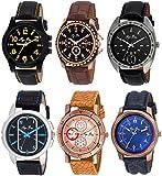 Pappi Boss Set Of 6 Stylish Watch Perfec...