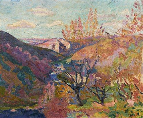 Das Museum Outlet-Tal der Sedelle, Crozant, Sunny Abend, 1915, gespannte Leinwand Galerie verpackt. 29,7x 41,9cm