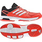 adidas Essence, Chaussures de Handball Homme, Rouge (Rojsol/Ftwbla/Negbas 000), 36 2/3 EU
