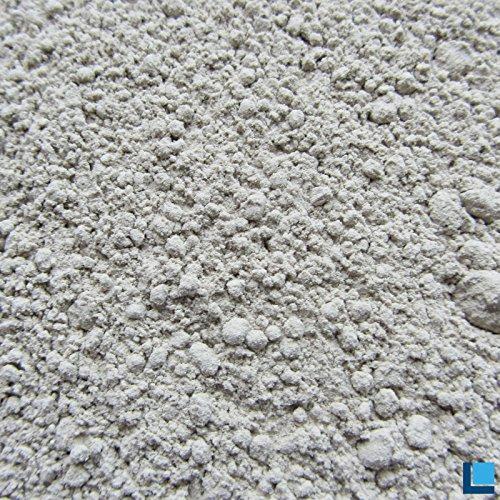 Bentonit Plus 50 Pulver 1kg in hervorragender Reinheit mit extrem hohem Gehalt an aktivem mineralischem Montmorillonit 85-95% -