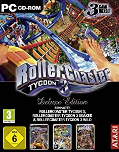 Roller Coaster Tycoon 3 - Deluxe Edition [Software Pyramide] [import allemand]