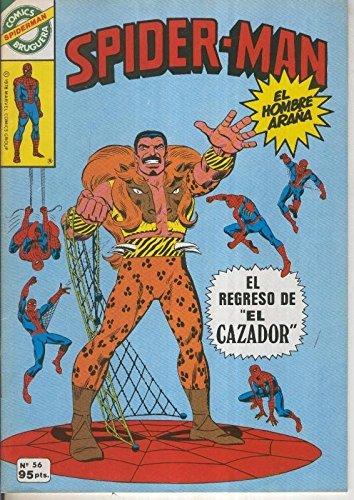 Comics Bruguera: Spiderman numero 56 (numerado 1 en trasera)