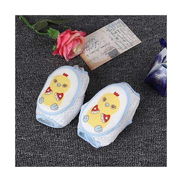 Cojín protector de rodillas de arrastre para bebés, Cojines de codo de rodilla ajustables Protector de seguridad de… 5