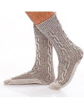 Bayrische Trachten Socken Kniestrümpfe Trachtensocken natur Kniebundstrümpfe