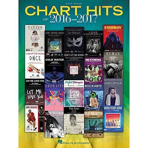 Chart Hits of 2016-2017 (Easy Piano)