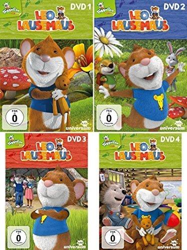 Vols. 1-4 (4 DVDs)