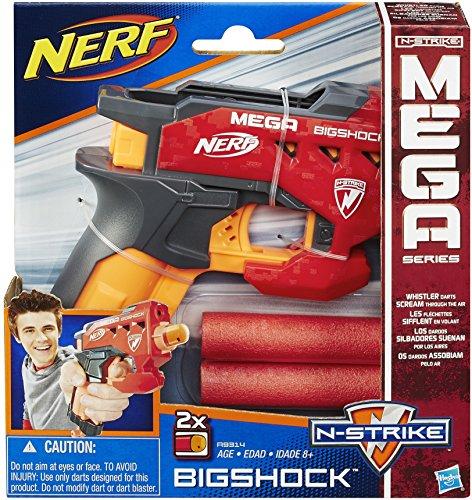 GA BigShock Spielzeugblaster, mit großen Darts ()
