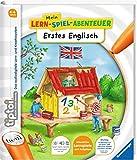Ravensburger tiptoi Buch Mein Lern-Spiel-Abenteuer | Erstes Englisch - Schule, Buchstaben Zahlen - Lernen für Kinder ab 4 Jahre hergestellt von Ravensburger