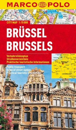 MARCO POLO Cityplan Brüssel 1:15 000 (MARCO POLO Citypläne)